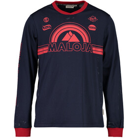 Maloja StronM. Bike Jersey Longsleeve Men blue